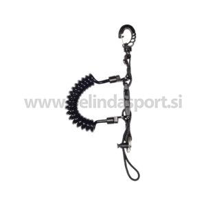 Spiralni kabel s karabinom
