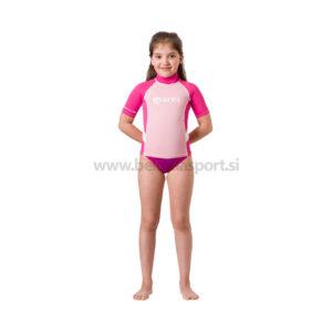 Rash Guard S-Sleeve Junior - girl