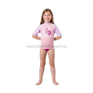 Rash Guard S-Sleeve Kid - girl