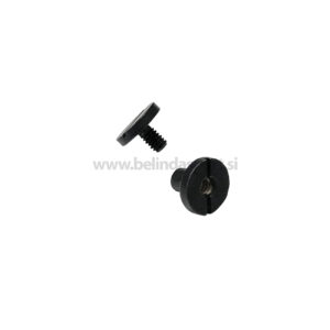 Flat Head Black Dead Bolt Screw (4 pcs) - XR Line