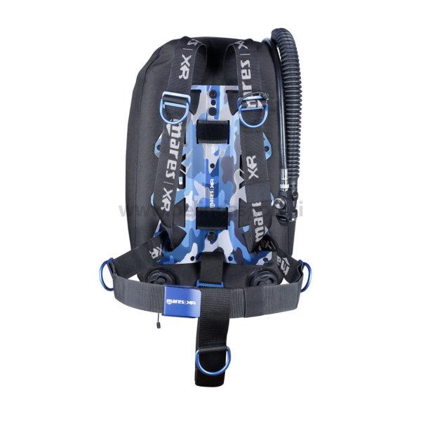 Blue Battle Single Backmount set - XR Line